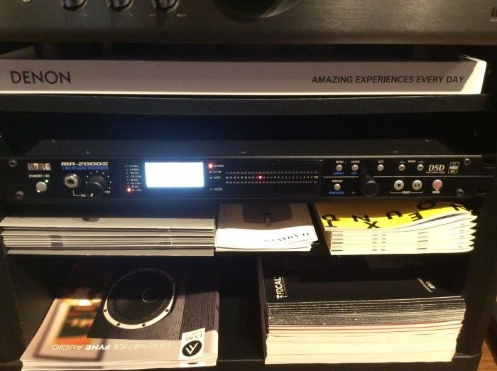 当店のオーディオ試聴機のセッティング状況です。_b0292692_17172092.jpg