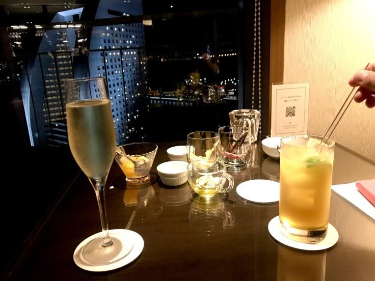横浜ベイホテル東急のクラブラウンジ_c0212604_19401935.jpeg