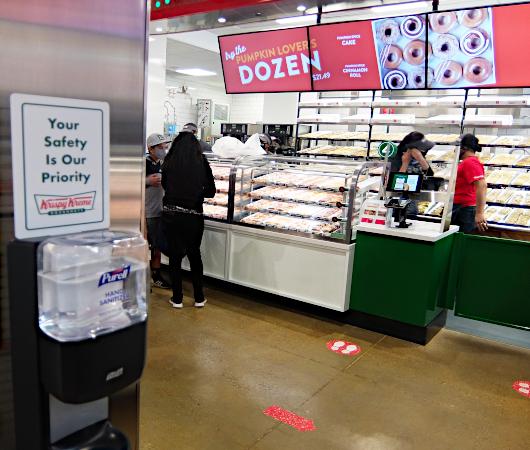 """1つ1200円ほどするニューヨークならではの特別ドーナツ、\""""Big Apple Doughnut\"""" by Krispy Kreme_b0007805_06510306.jpg"""