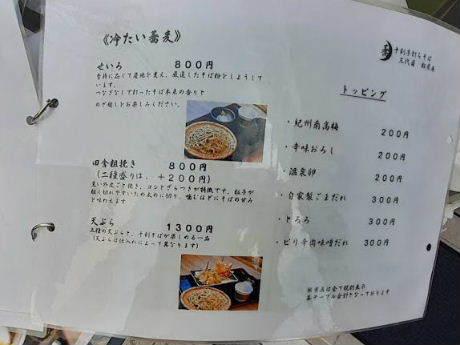 かっぱ橋界隈-「松月庵 三代目」で、天ぷらざる_d0063149_21290979.jpg