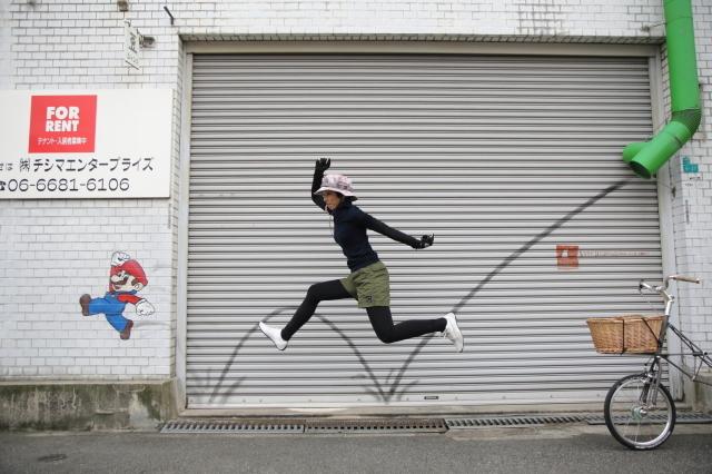 大阪のウォールアートをモールトンで巡ってみた!_b0078651_01583538.jpg
