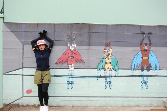 大阪のウォールアートをモールトンで巡ってみた!_b0078651_02102264.jpg