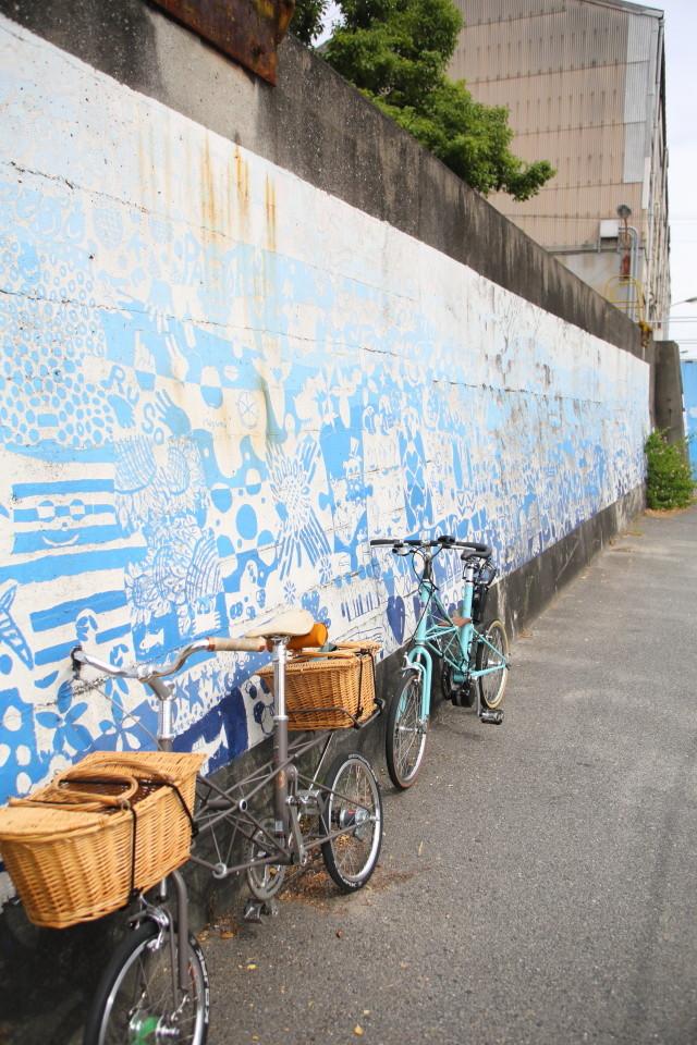 大阪のウォールアートをモールトンで巡ってみた!_b0078651_20395351.jpg