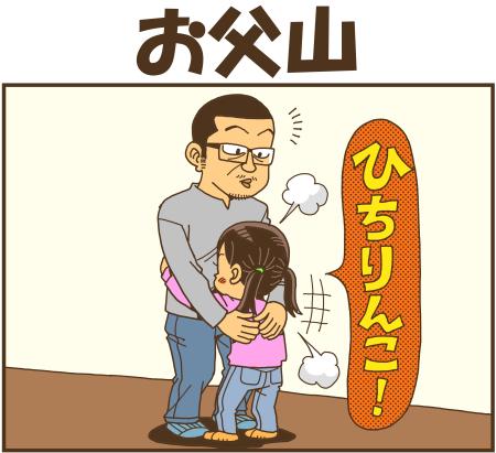 お父山 - 戯画漫録