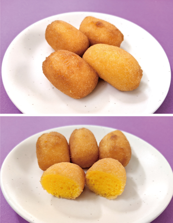 【袋ドーナツ】第一パン「ポケモンもちっとボールドーナツ パンプキン」【油が…】_d0272182_18585727.jpg