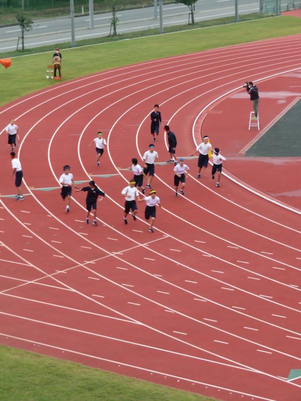 体育祭で初めて全校生徒がそろいました_e0359282_16120727.jpg