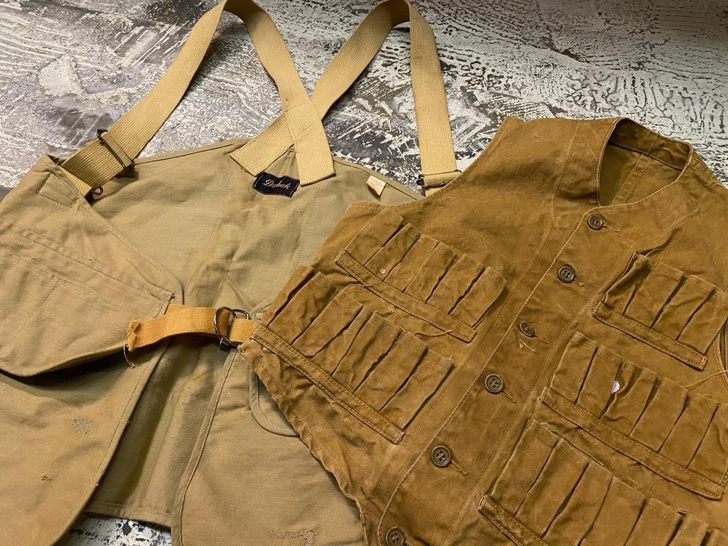 10月21日(水)マグネッツ大阪店Vintage入荷日!! #6 Hunting編!! HINSON,FieldMaster,ChinStrap,Vest, AN-J-3Type!!_c0078587_02254472.jpg
