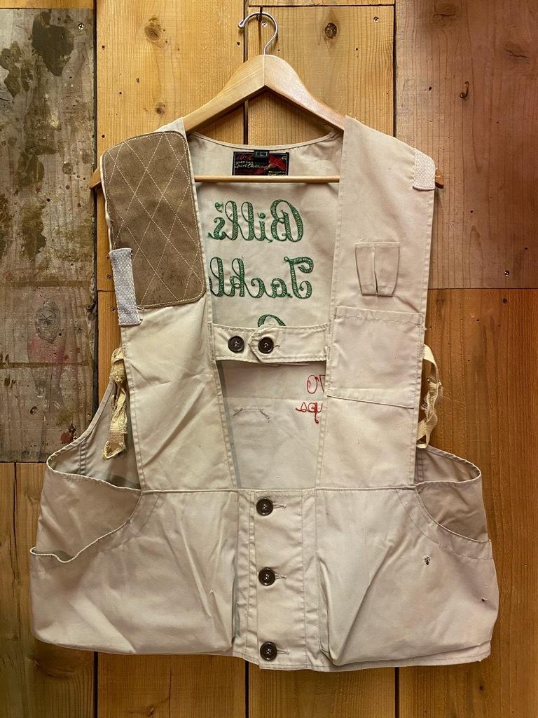 10月21日(水)マグネッツ大阪店Vintage入荷日!! #6 Hunting編!! HINSON,FieldMaster,ChinStrap,Vest, AN-J-3Type!!_c0078587_02293696.jpg