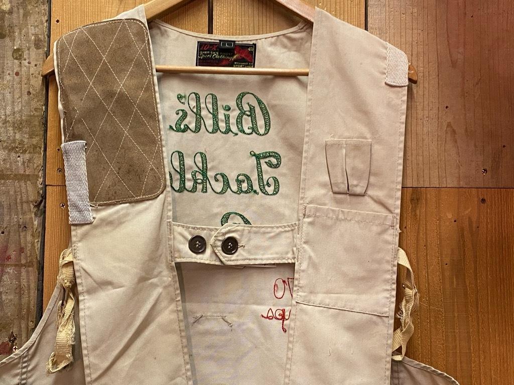 10月21日(水)マグネッツ大阪店Vintage入荷日!! #6 Hunting編!! HINSON,FieldMaster,ChinStrap,Vest, AN-J-3Type!!_c0078587_02293749.jpg