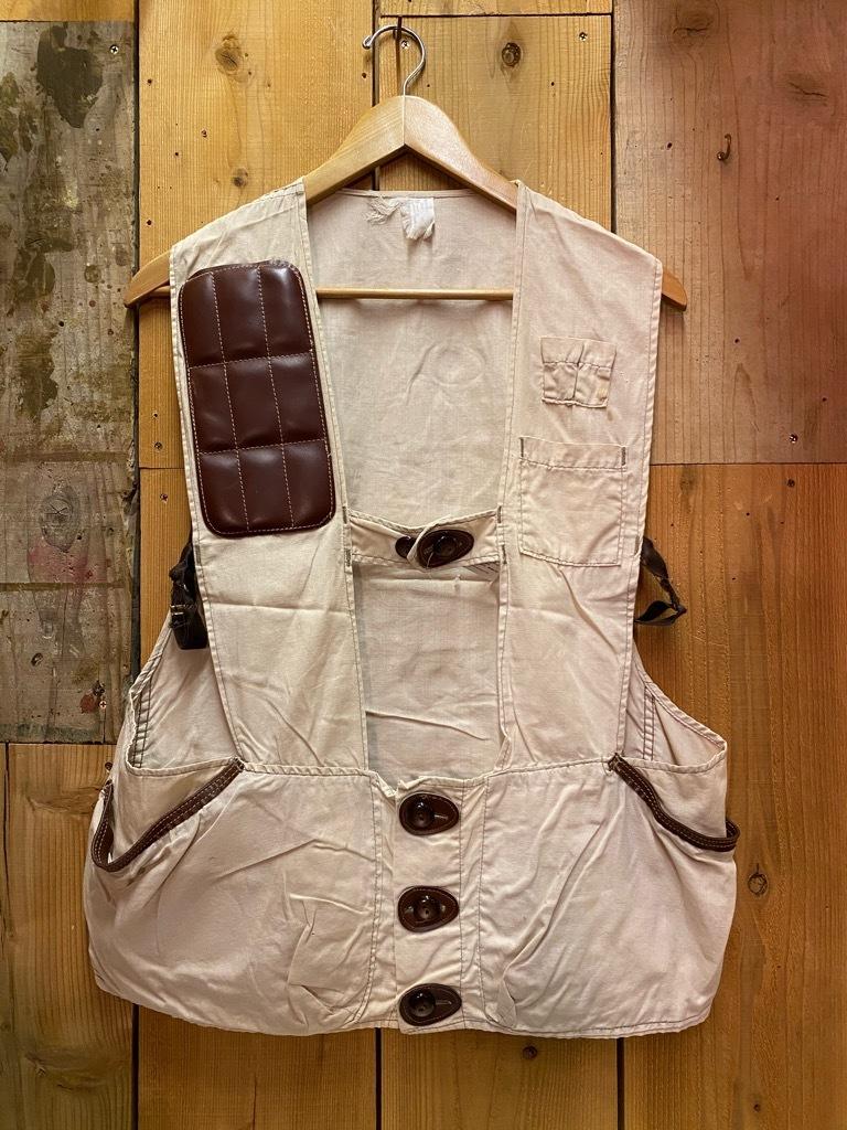 10月21日(水)マグネッツ大阪店Vintage入荷日!! #6 Hunting編!! HINSON,FieldMaster,ChinStrap,Vest, AN-J-3Type!!_c0078587_02301365.jpg
