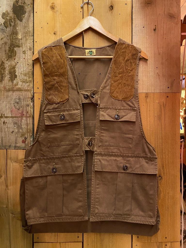 10月21日(水)マグネッツ大阪店Vintage入荷日!! #6 Hunting編!! HINSON,FieldMaster,ChinStrap,Vest, AN-J-3Type!!_c0078587_02304949.jpg