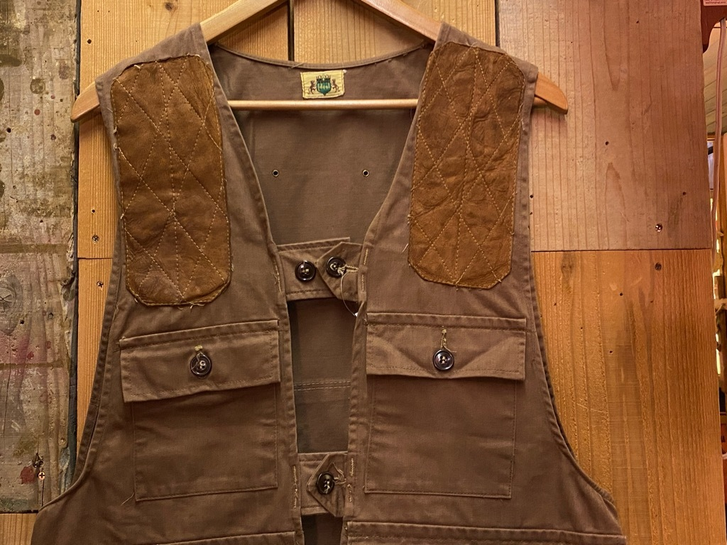 10月21日(水)マグネッツ大阪店Vintage入荷日!! #6 Hunting編!! HINSON,FieldMaster,ChinStrap,Vest, AN-J-3Type!!_c0078587_02305013.jpg