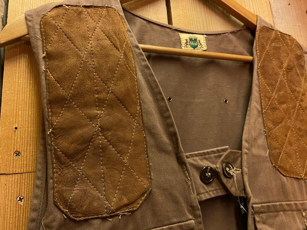 10月21日(水)マグネッツ大阪店Vintage入荷日!! #6 Hunting編!! HINSON,FieldMaster,ChinStrap,Vest, AN-J-3Type!!_c0078587_02305299.jpg