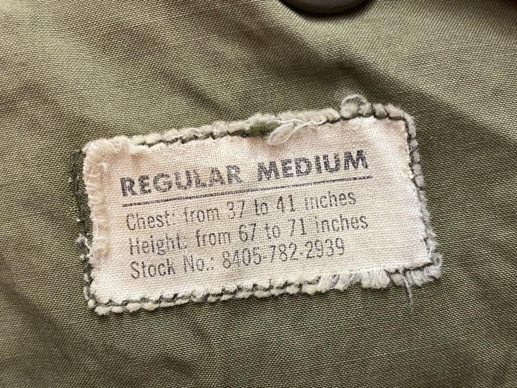 10月21日(水)マグネッツ大阪店Vintage入荷日!! #7 U.S.Army WW1~VietnamWar編!! CottonTunic,RedCross,USMA,65 1st, TigerS_c0078587_03003747.jpg