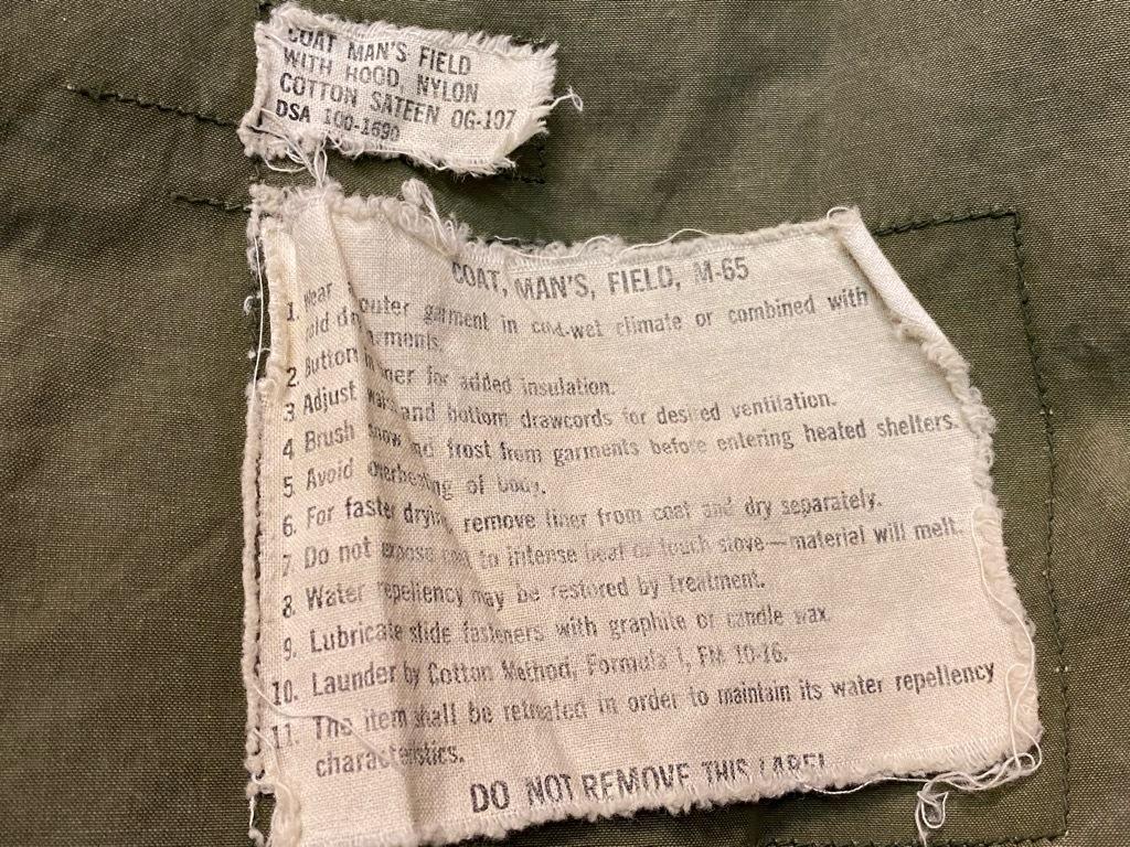 10月21日(水)マグネッツ大阪店Vintage入荷日!! #7 U.S.Army WW1~VietnamWar編!! CottonTunic,RedCross,USMA,65 1st, TigerS_c0078587_03004000.jpg