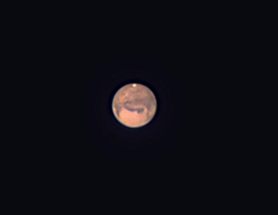 口径15㎝屈折による火星と木星_f0347332_15503620.jpg