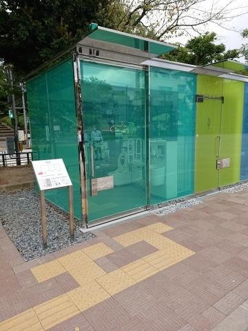THE TOKYO TOILET(1)はるのおがわコミュニティパークトイレ_a0147436_14160258.jpg