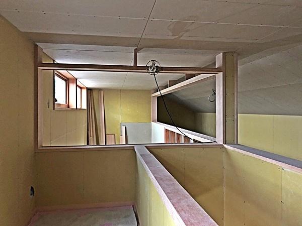 板橋の家Ⅲ 木工事追い込み_c0019551_06351205.jpg