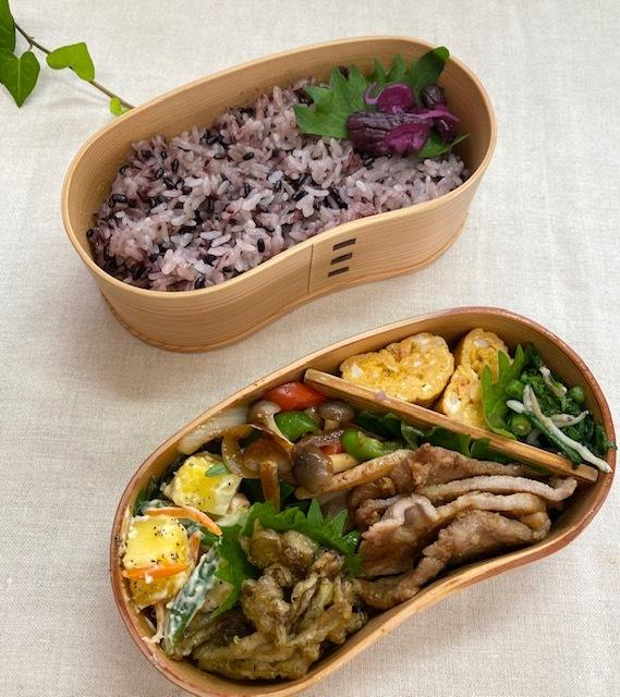 lunch box ×3 秋深まって_a0165160_21300463.jpg
