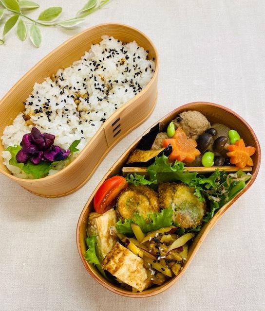 lunch box ×3 秋深まって_a0165160_21301887.jpg