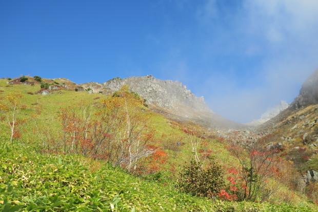 紅葉の焼岳へ_d0103314_21333875.jpg