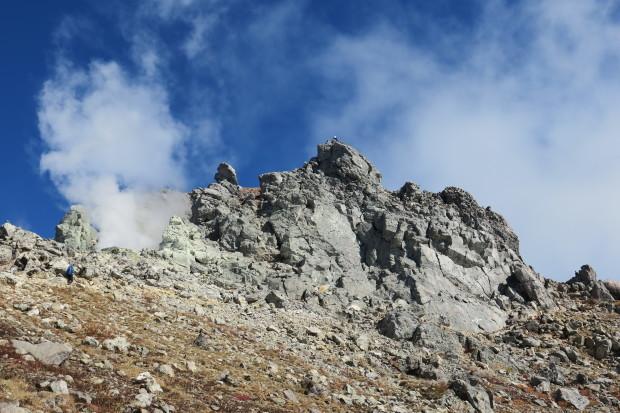 紅葉の焼岳へ_d0103314_21335537.jpg