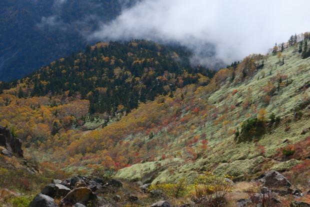 紅葉の焼岳へ_d0103314_21350752.jpg