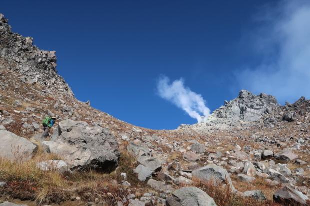 紅葉の焼岳へ_d0103314_21455512.jpg
