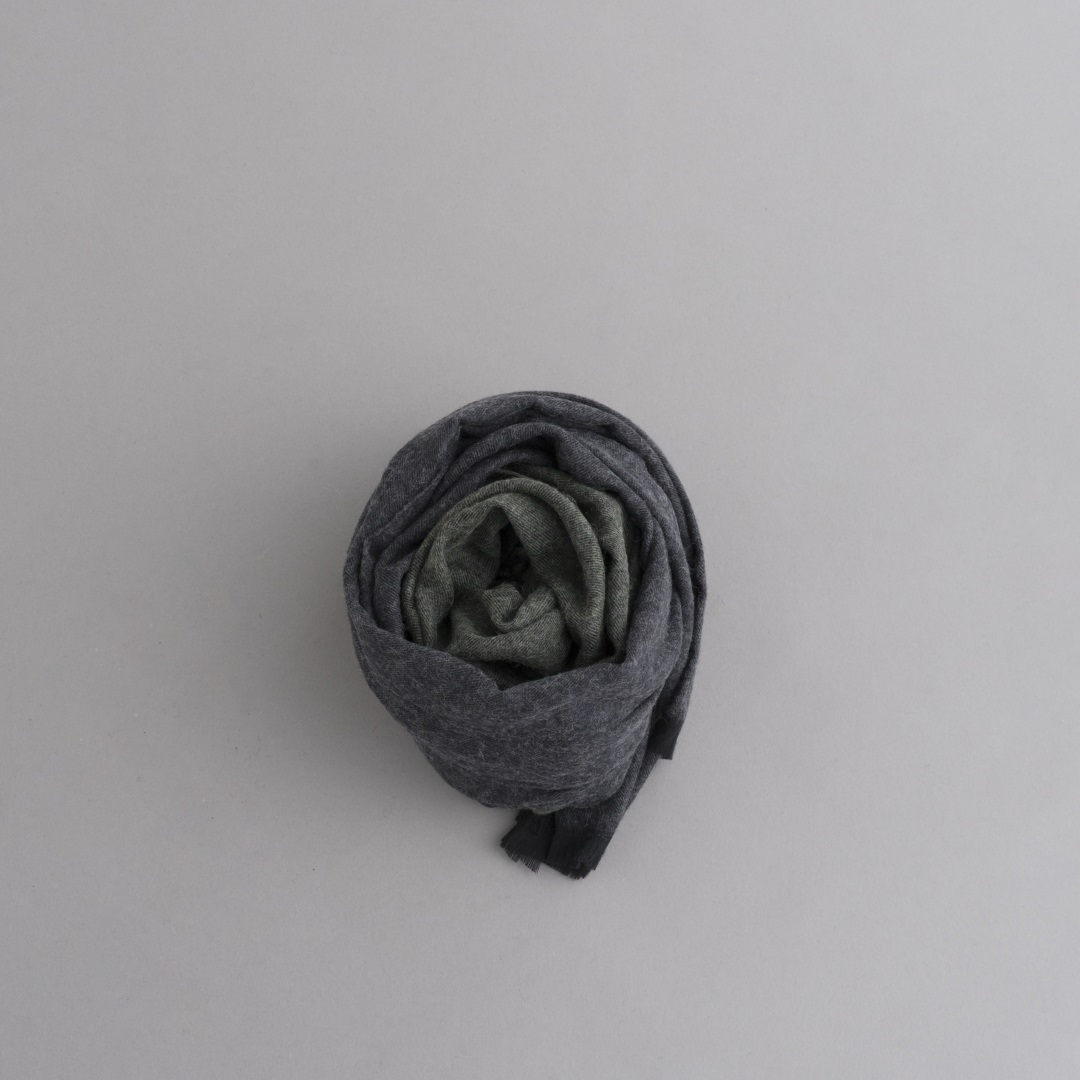 STILL BY HAND 2-Tone Color Big Stole_d0120442_13262258.jpg