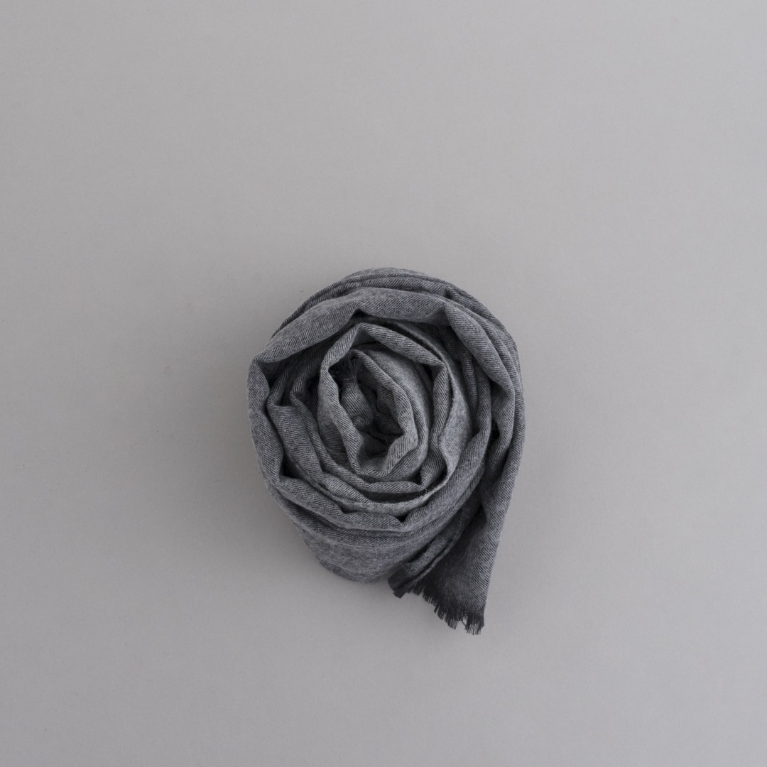 STILL BY HAND 2-Tone Color Big Stole_d0120442_13273167.jpg