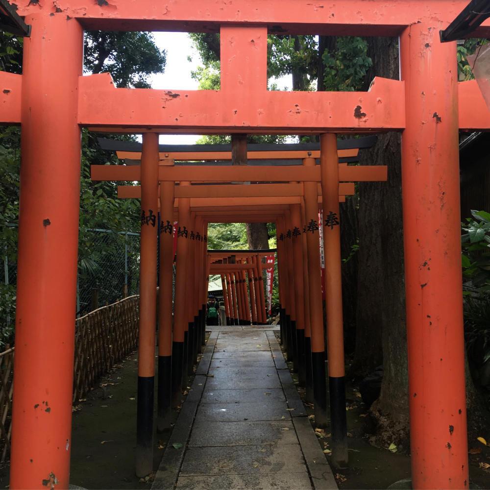 花園稲荷神社の穴稲荷_c0060143_02172505.jpg