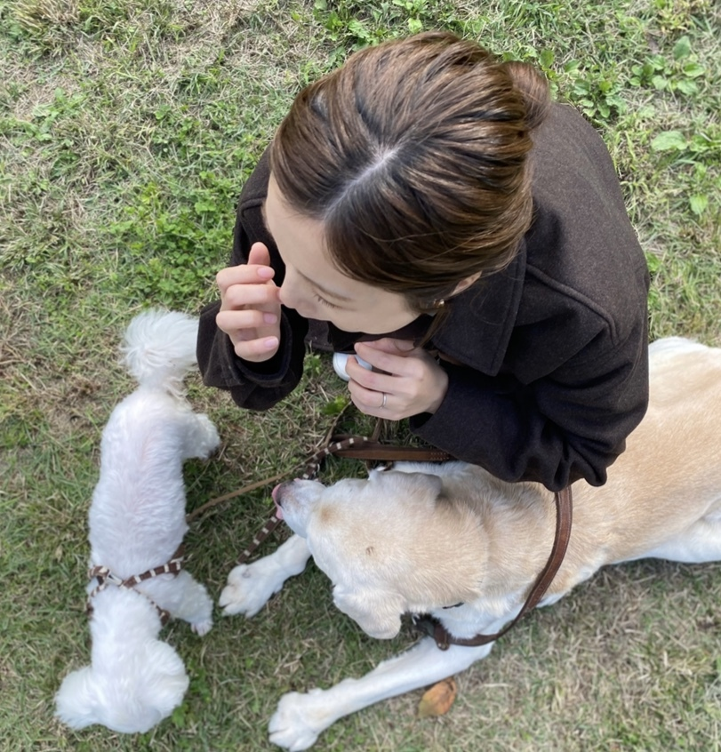 Picnic with dogs @JOHOKU park 表情が豊かに♪_a0165160_18133384.jpg