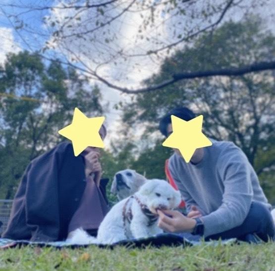 Picnic with dogs @JOHOKU park 表情が豊かに♪_a0165160_18355982.jpg