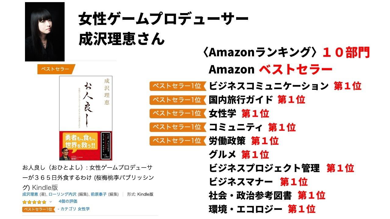 「お人良し」がAmazon書籍ベストセラーになりました!!_f0232060_17311626.jpg