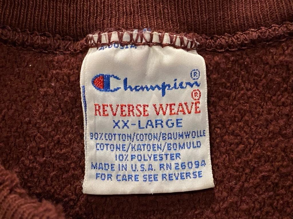 マグネッツ神戸店 10/24(土)Superior入荷! #4 Champion Reverse Weave Item!!!_c0078587_16021245.jpg