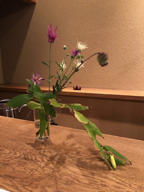 ルグラ 帆船デザイン オパリン花瓶 デルフト風_c0108595_23463064.jpeg
