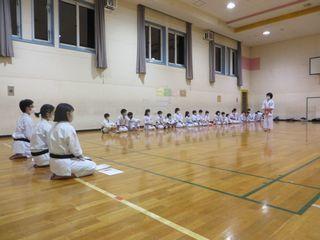 金曜空手 発寒教室 秋期昇段級審査会_c0118332_21530670.jpg