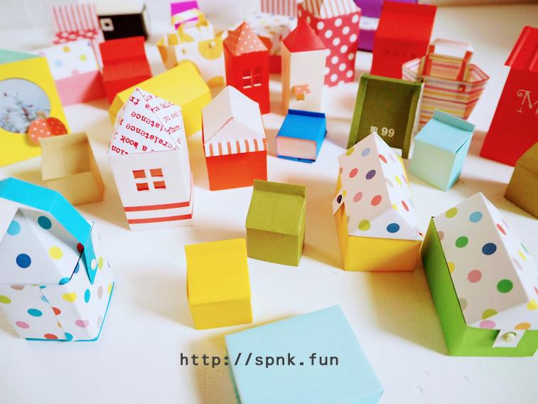 折り紙集合、作り方を忘れないために。 - 暮らしをつくる、DIY*スプンク