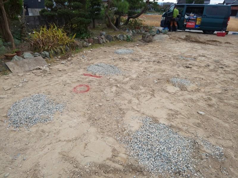 ■地盤改良工事(天然砕石パイル)■_e0188083_15580162.jpg