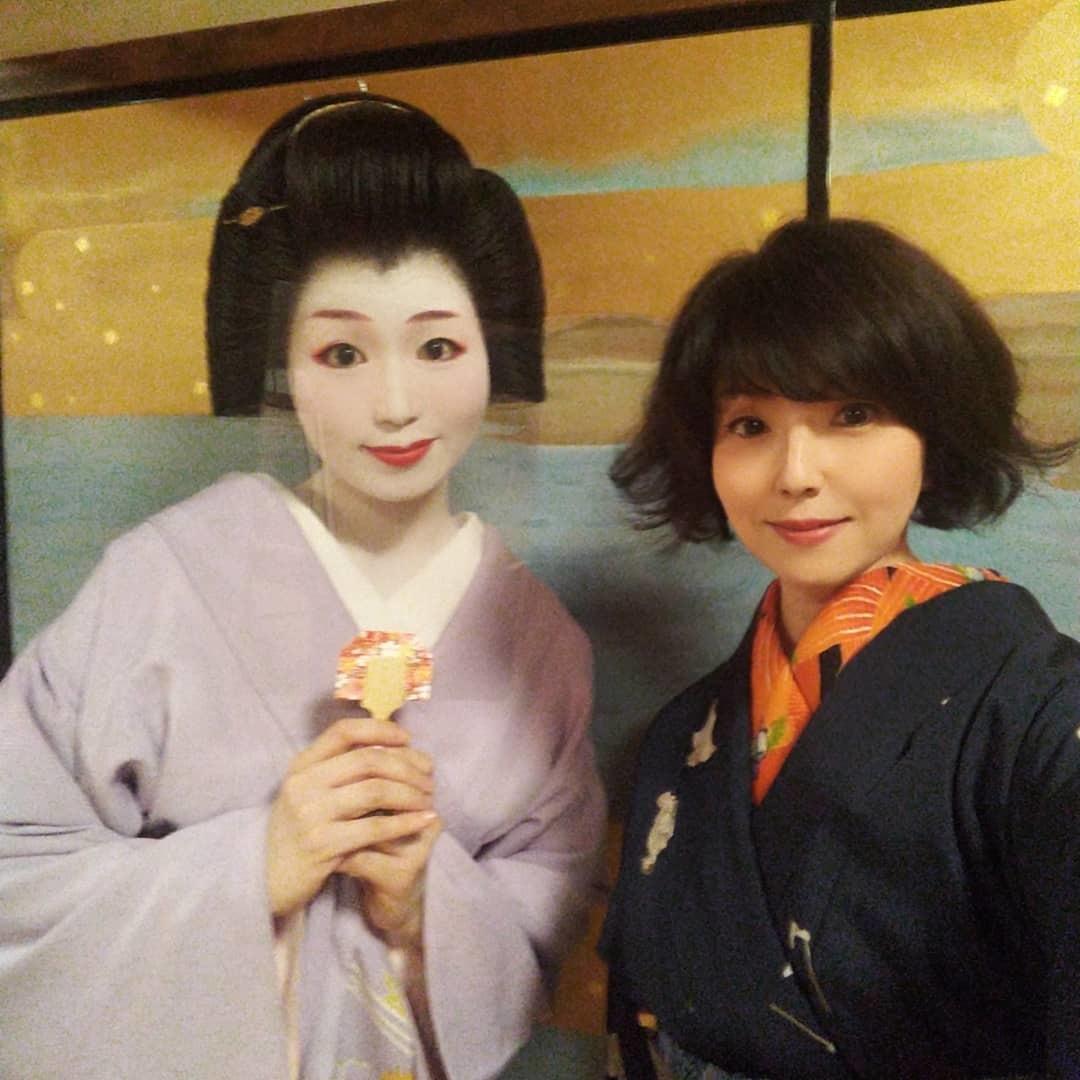 201024 京都・幾松でのアンティーク着物コーディネート着物買取_f0164842_19533520.jpg