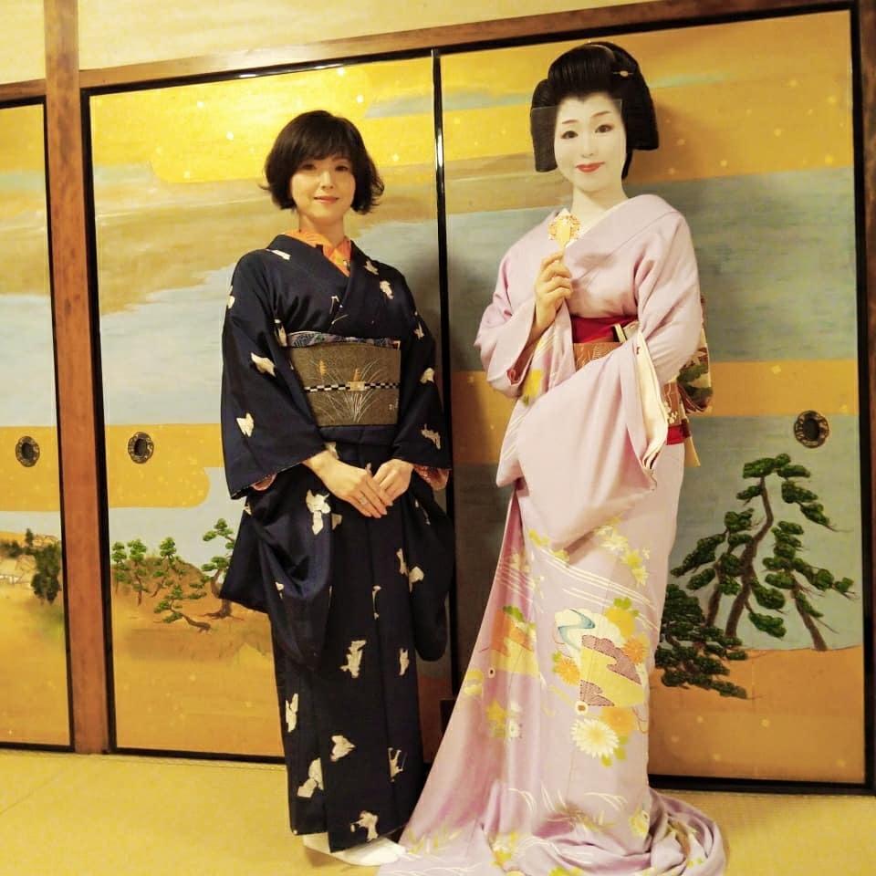 201024 京都・幾松でのアンティーク着物コーディネート着物買取_f0164842_19535261.jpg