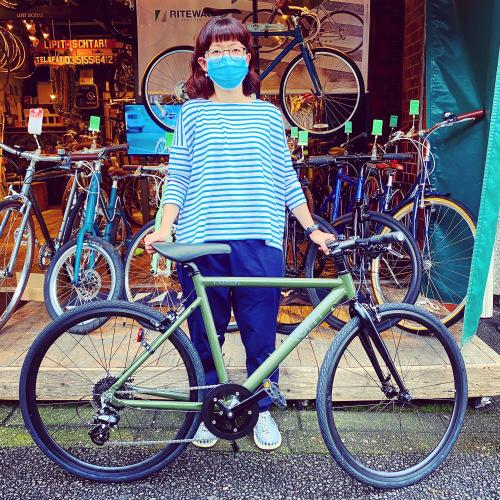 ☆tern ターン 特集☆「 CLUTCH クラッチ 」 クロスバイク 650c おしゃれ自転車 自転車女子 自転車ガール クラッチ ターン rojibikes クレスト AMP F1_b0212032_16474424.jpeg