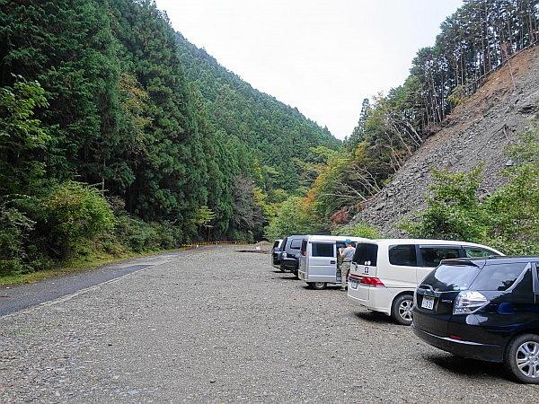 紅葉はおあずけ霧と暴風の明神岳  SOTA#JA/ME-002_f0073587_22321660.jpg
