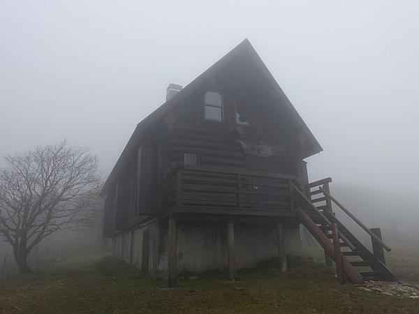 紅葉はおあずけ霧と暴風の明神岳  SOTA#JA/ME-002_f0073587_23321646.jpg