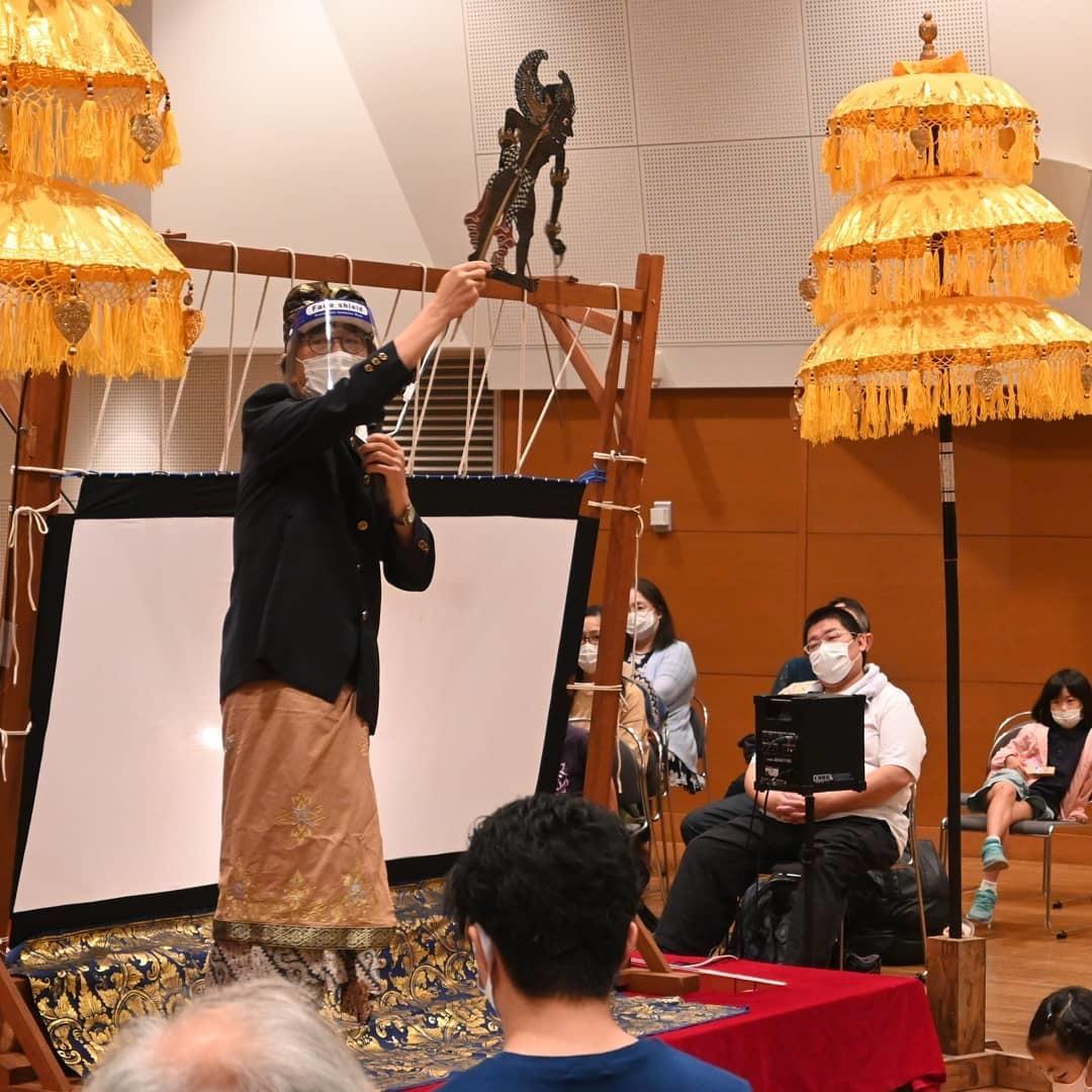 完売御礼!浜松市楽器博物館でのWayang Kulit公演_e0017689_20275063.jpg