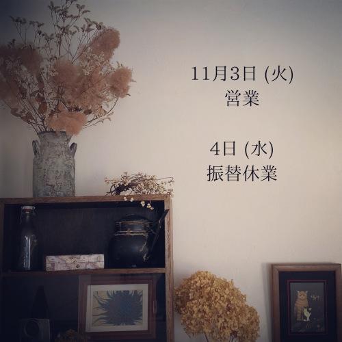 11月3日、と、4日。_c0325500_10535097.jpeg