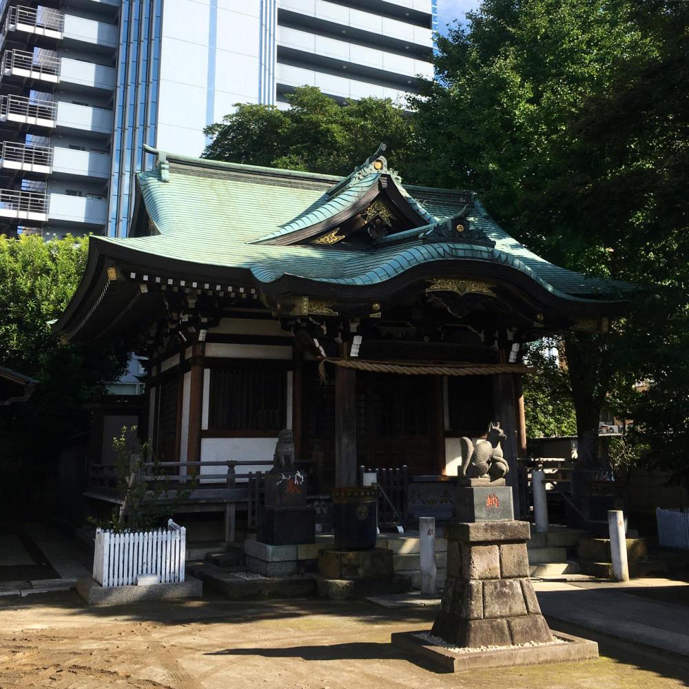 綾瀬稲荷神社の富士塚へ_c0060143_21124047.jpg
