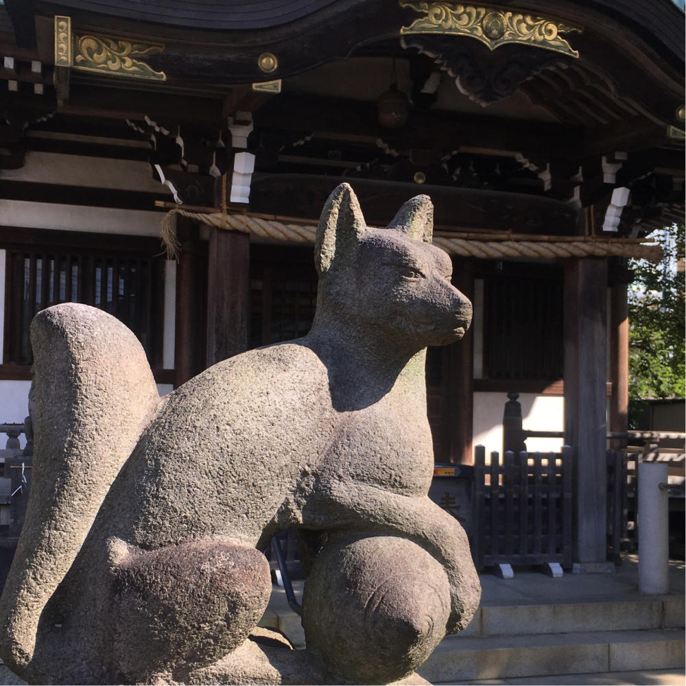 綾瀬稲荷神社の富士塚へ_c0060143_21124127.jpg