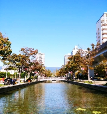 住吉川から六甲アイランドまでウォーキング♪_b0194861_17383510.jpg