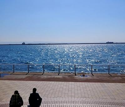 住吉川から六甲アイランドまでウォーキング♪_b0194861_17390813.jpg